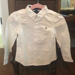 Polo long sleeved button down oxford. Size 3t.